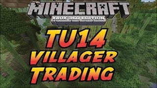 Minecraft Xbox 360(PS3)-TU14-How to trade with Villagers!