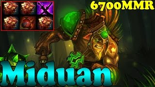 Dota 2 - Miduan 6700 MMR Plays Bristleback Vol 1 - Ranked Match Gameplay!