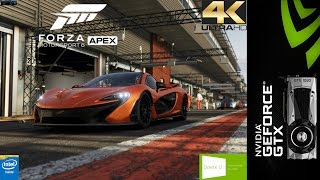 Forza MotorSport 6 Apex Ultra Settings 4K | GTX 1080 FE | i7 5960X 4.5GHz