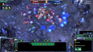 Starcraft 2 Heart of the Swarm Full HD White-RA Special Tactics Battle.net (russian)