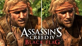 Assassin's Creed 4: Graphics Comparison (PS4, PS3, Xbox 360, Wii U)