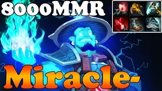 Dota 2 - Miracle- 8000 MMR Plays Storm Spirit vol 9 - Ranked Match Gameplay