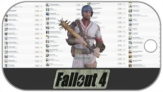 "Gaming News - Fallout 4 ""Big Leagues Perk, Trophies List, Preloadable, Mods"""