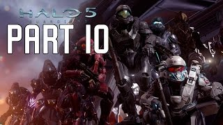 Halo 5 Guardians Walkthrough Part 10 - Mission 11 & 12 | Before The Storm & Battle Of Sunaion