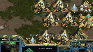 Starcraft Brood War [ICCUP Game 40] 1v1 Protoss VS Terran Python [FPVOD] w/ more mumble com