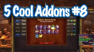 Jessiehealz - 5 Amazing Addons #8 (World of Warcraft)