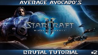 STARCRAFT 2 | WINGS OF LIBERTY | MISSION 2 | TUTORIAL (BRUTAL)