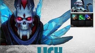 Dota 2: Lets play Lich. Летс плей на Лича. 2/0/11