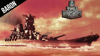 World of Warships YAMATO!  Hitting Citadels