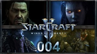 "Let's Play ""StarCraft 2 - Wings of Liberty"" - #004 - ""Tanz auf dem Vulkan"" [Deutsch/HD]"