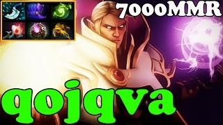 Dota 2 - qojqva 7000 MMR Plays Invoker - Ranked Match Gameplay