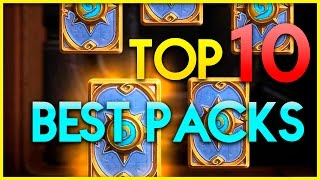 Hearthstone - Top 10 Best Packs - Funny moments - Top Deck