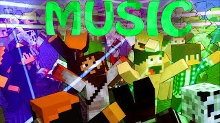 Minecraft | MUSIC MOD Showcase! (Dance Mod, Party Mod, Music Mod)
