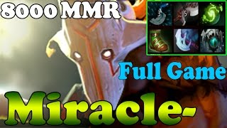 Dota 2 - Miracle- 8000 MMR Plays Juggernault - Full Game - Ranked Match Gameplay