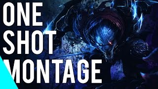 Insane One-Shot Montage | ( League of Legends )