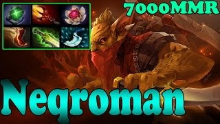 Dota 2 - Neqroman 7000 MMR Plays Bounty Hunter Vol 1 - Ranked Match Gameplay!