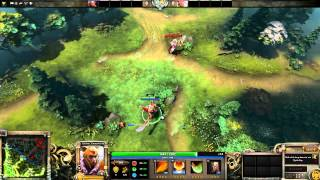 Dota 2 Mechanics Legion Commander Duel vs Repel and Black King Bar