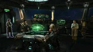 StarCraft 2 - Inside the Hyperion Battlecruiser ship