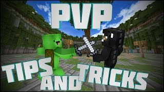 Minecraft: Pvp Tips & Tricks! #1 | 1.8 TexturePacks and Hotbar layout!