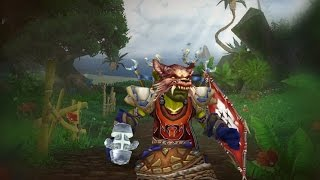 Прокачка гоблина шамана №1 в игре World of Warcraft: Warlords of Draenor