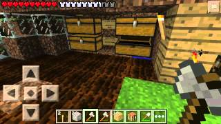 Выживание в Minecraft PE #56 [NETHER-REACTOR-CORE]