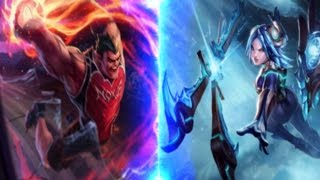 Mudjaco - DunkMaster Darius TOP vs Frost Blade Irelia League of Legends LoL