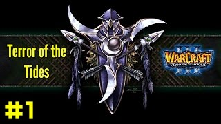 Warcraft III The Frozen Throne: Night Elf Campaign #1 - Rise of the Naga