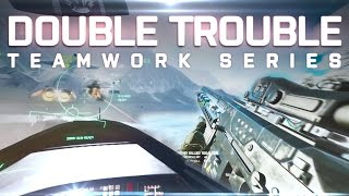 DOUBLE TROUBLE | Battlefield 4 Teamwork ft. Xerator