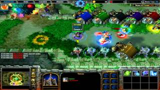 Warcraft 3 Frozen Throne - Прохождение Карты Heroic Town 1.90b