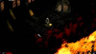 Diablo II : LOD Amazon Bow vs Diablo Hell