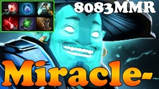 Dota 2 - Miracle- TOP 1 MMR IN THE WORLD 8083MMR Plays Storm Spirit Vol 8 - Ranked Match Gameplay