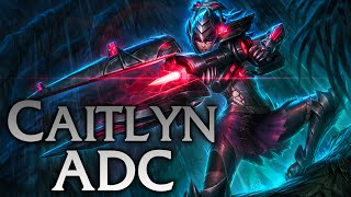 League of Legends | Headhunter Caitlyn ADC - Full Game Commentary