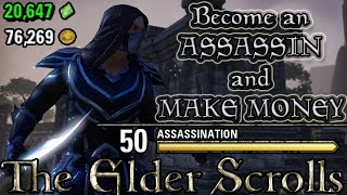 HOW to become an ASSASSIN in ESO! (Elder Scrolls Online Quick Tips for PC, PS4, and XB1)