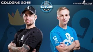 CS:GO - Team Kinguin vs. Cloud9 [Dust2] - ESL One Cologne 2015 - Group F