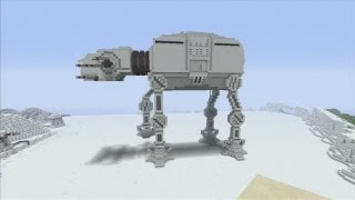 Minecraft xbox Epic Structures: STAR WARS edition: Rannalt's AT-AT