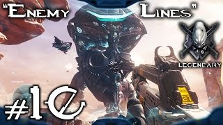 "Halo 5 Guardians - Legendary Playthrough - Mission 10 ""Enemy Lines"" 