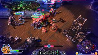 HeroesOfTheStorm  gameplay 2014 Blizzard Entertainment Бухта Черносерда hd