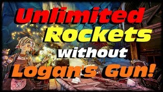 Borderlands 2 Unlimited Rocket Exploit Without Using Logan's Gun! Sham + Tiny Tinas Boom Puppy!