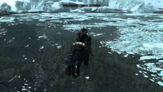 Skyrim GLITCH Sprint while swimming. Exploit for PC/360/PS3