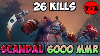 Scandal 6000 MMR Plays Pudge vol #1 Dota 2