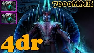 Dota 2 - 4dr 7000 MMR Plays Terrorblade - Ranked Match Gameplay