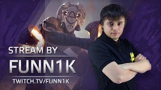 Dota 2 Stream: Na`Vi Funn1k playing Shadow Shaman (Gameplay & Commentary)