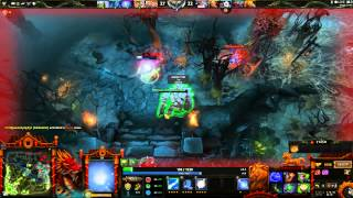 Dota 2 gamplay Io (Wisp) full game (Part 2 of 2)