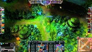 League of Legends Ezreal 1v5 unofficial pentakill   Nexus save turnaround   LOL   League of Legends