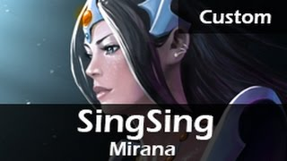 760: SingSing as Mirana  ft. Fwosh, Tucker - Skillshot Wars DOTA 2 Gameplay VOD