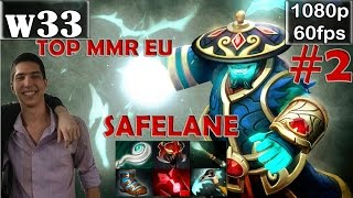 w33 (TOP MMR EU) - Storm Spirit Safelane Pro Gameplay Dota 2 #2