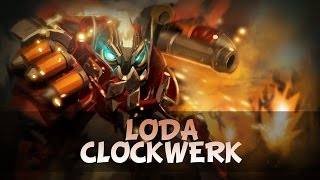 Loda Clockwerk | Dota 2 gameplay