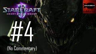 StarCraft 2: Heart of the Swarm - Campaign Playthrough Part 4 (No commentary, Leviathan Ship)