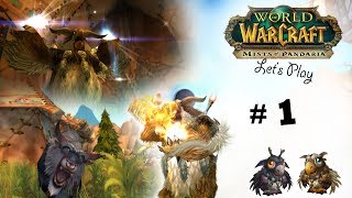 Lets Play World of Warcraft [MoP] [Tauren Druide 1-90] Part: 001