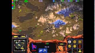 StarCraft Brood War: Temple Siege Match 6 (Mist,Dark Mage, Assassin VS Magician,Mutant,Warrior)
